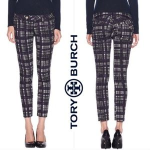 "NWOT Tory Burch ""Conner Tab Front Skinny"" Pants"